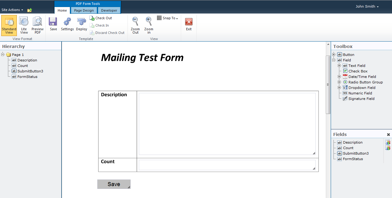 Pdf form submission by e mail step baditri Choice Image
