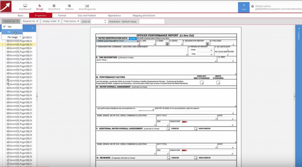 SharePoint forms - magic of stages - Demonstration AF707