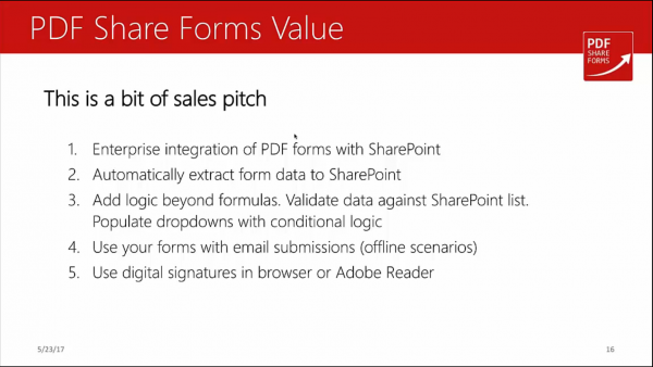 Acroforms vs XFA - PDF Share Forms value